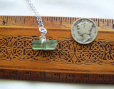 Green Tourmaline 925 Silver Wire Wrapped Gemstone Pendant