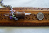 Peace and Protection Mini Wand Gemstones Pendant