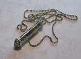 Deconstructed Watch Works Treasure Tube Steampunk Necklace