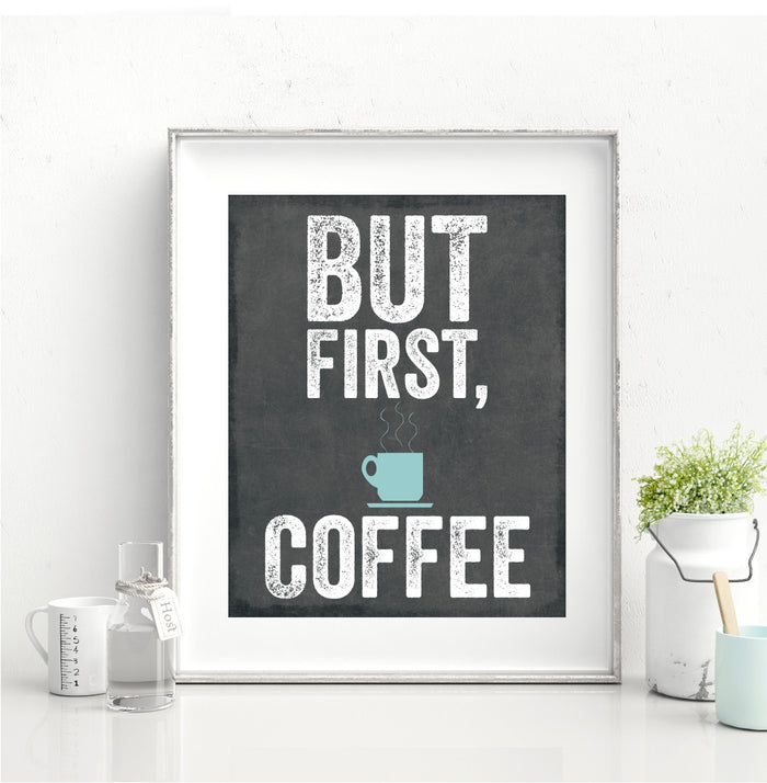 But First Coffee Wall Decor