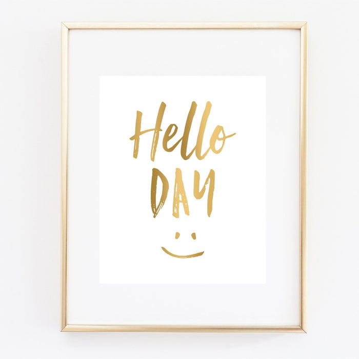 Hello Day Wall Art