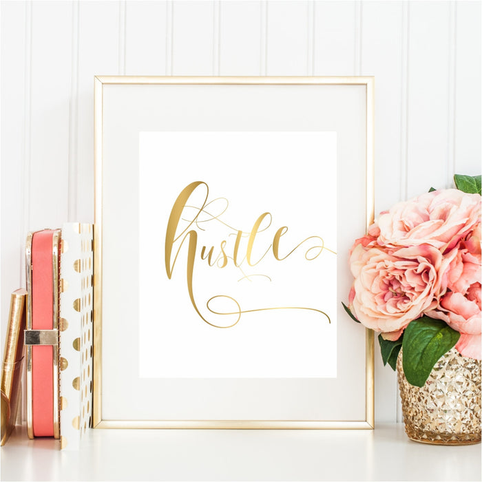Gold Hustle Art Print