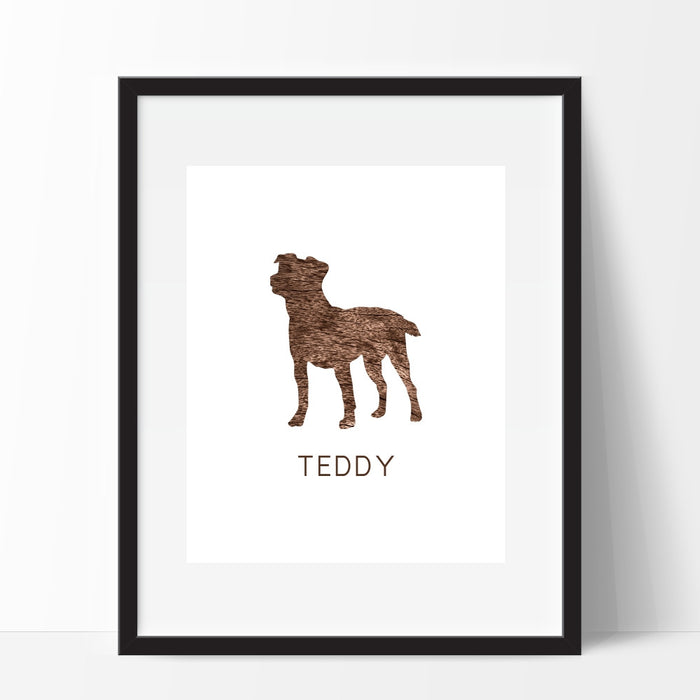Jack Russell Dog Art Print Personalized