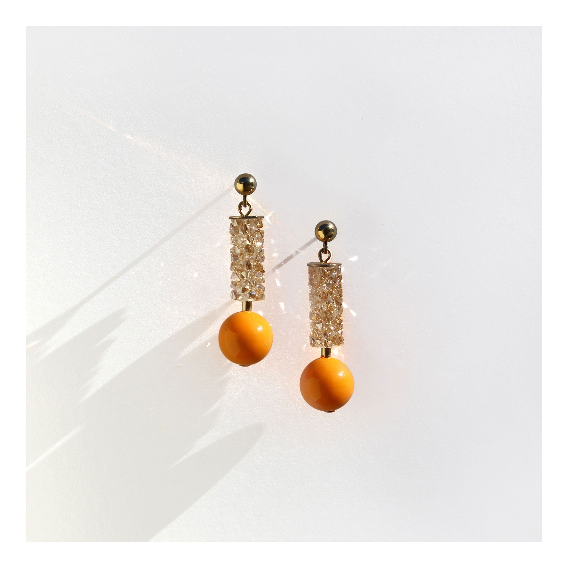 Florida apartment earrings