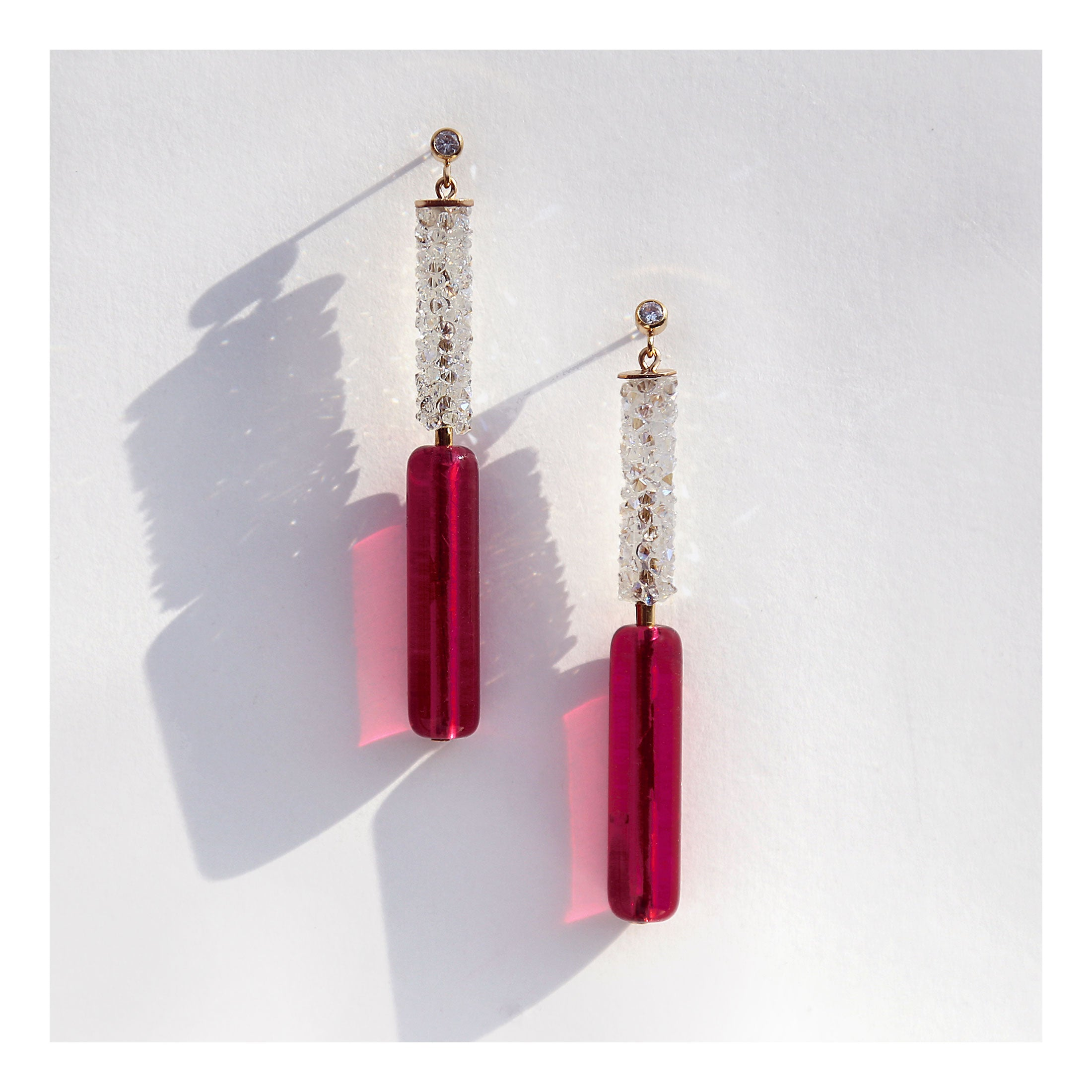 Flash- Dance earrings