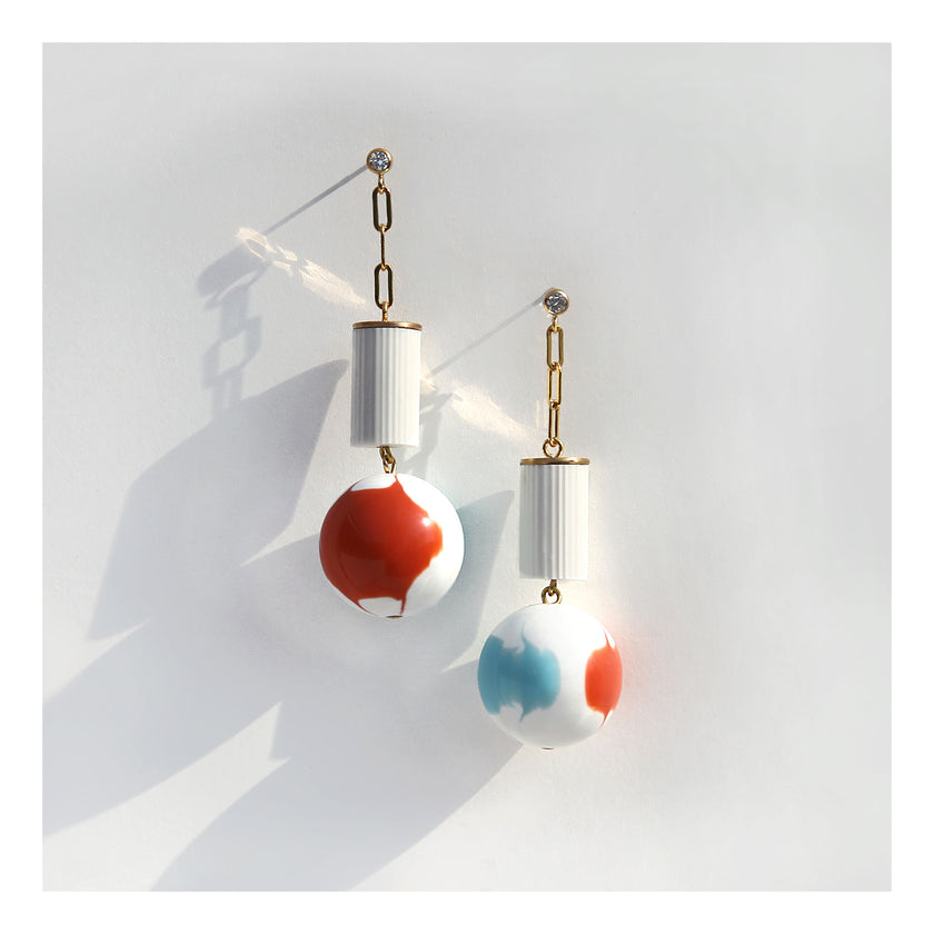 Poolside earrings