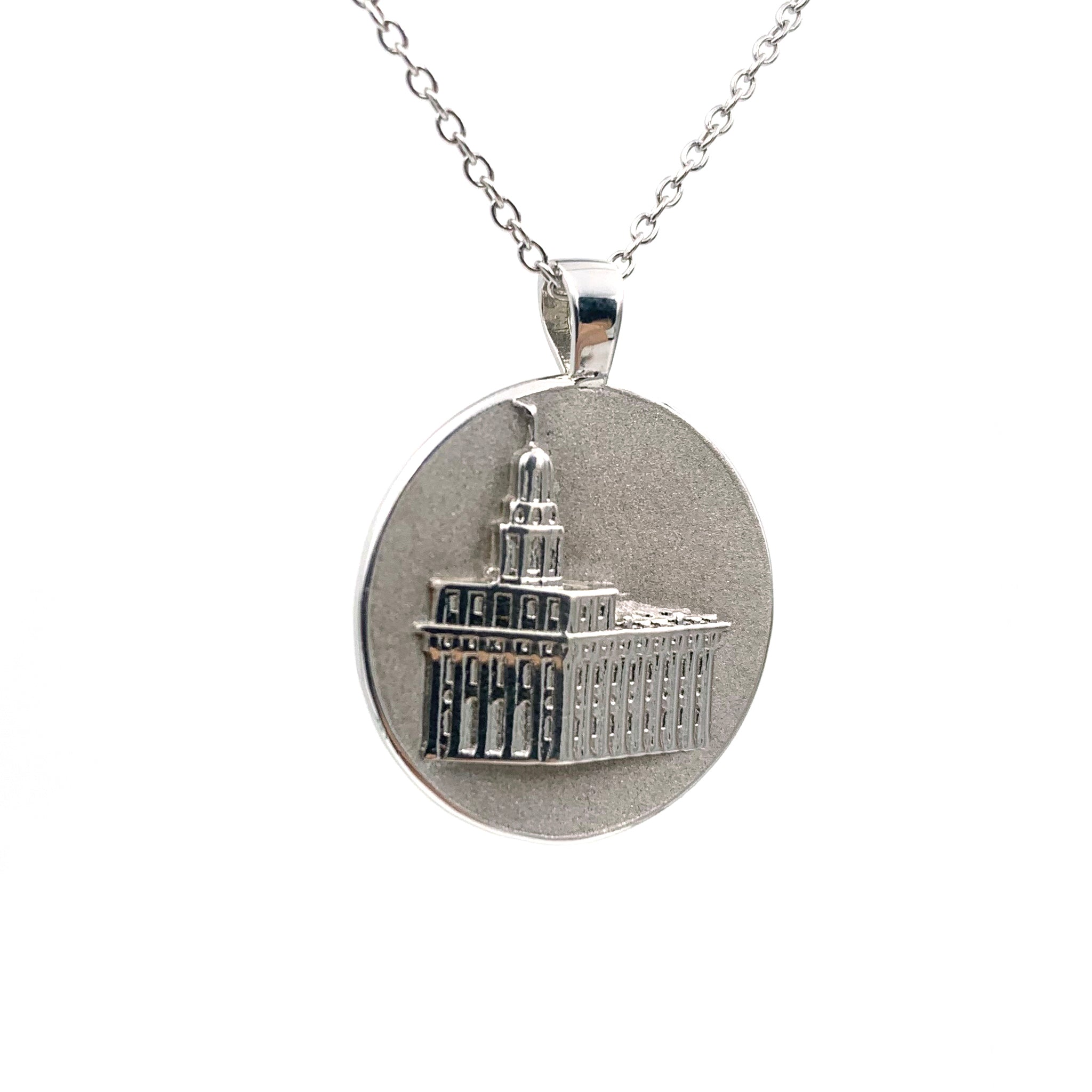 Gold Filled Necklace LDS Temple Necklace LDS Wedding Gift Young Women Necklace Nauvoo Illinois Temple Necklace