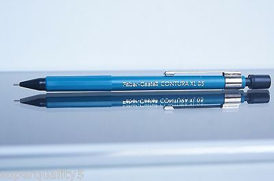 Faber-Castell CONTURA XL 0.5 Blue mechanical pencil made in Germany Vintage NEW