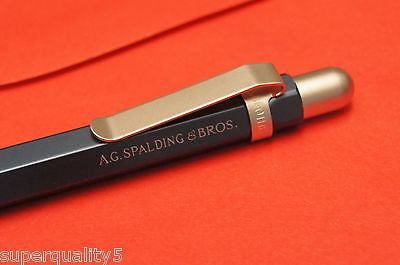 A.G. Spalding & Bros Ballpoint Pen Hexagonal Body 0.7 mm  Navy Blue new