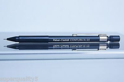Faber-Castell CONTURA XL 0.5 Black mechanical pencil made in Germany Vintage NEW