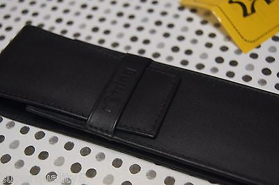 Rotring Pen Leather Pouche Case for 2 pens Genuine Leather Germany