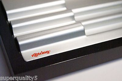 "rotring Presentation stand  "" Rare Item ""  New In Box  600  Levenger"
