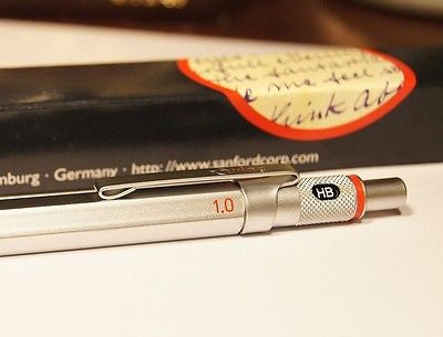 rotring 600 1.0 mm  ( 1 mm ) Drafting Mechanical Pencil Germany NEW IN BOX