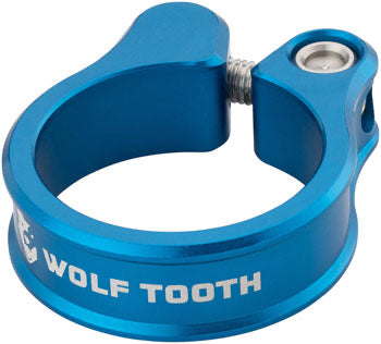 Wolf Tooth Seatpost Clamp 31.8mm Blue