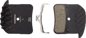 Shimano H01A Resin Disc Brake Pads and Spring with Fins