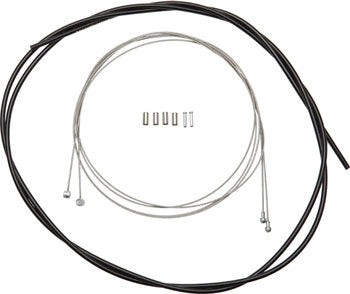 Shimano Road/MTB Brake Cable and Housing Set, Black