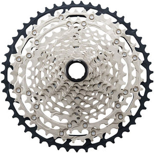 Shimano SLX CS-M7100 Cassette - 12-Speed, 10-51t, Silver/Black, Micro Spline