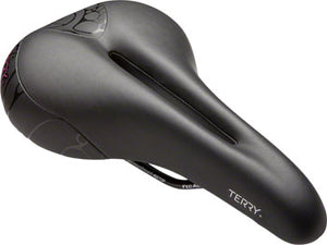 Terry Butterfly Chromoly Saddle - Chromoly, Black, Women's