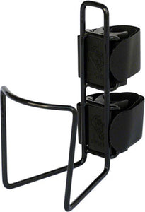 TwoFish QuickCage 40oz Water Bottle Cage: Vinyl Coated Black, No Bottle Included
