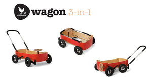 Wishbone Design 3in1 Wagon