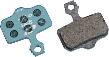 Jagwire Sport Organic Disc Brake Pads for SRAM Level TL, T, DB5, DB3, DB1, Avid# Elixir R, CR, CR Mag, 1, 3, 5, 7, 9, X0, XX, World Cup