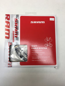 SRAM Road/MTB 4mm Shift Cable and Housing Set, Black