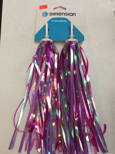 Dimension Streamers Magenta Pink
