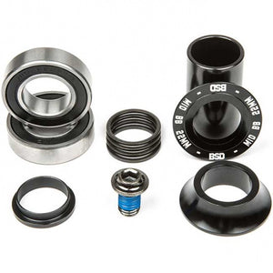 BSD Substance Mid Bottom Bracket Black 22mm Black
