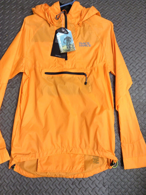 Raceface Nano Packable Orange Jacket