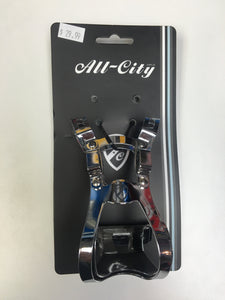 All-City Crayton Double Clips Chrome