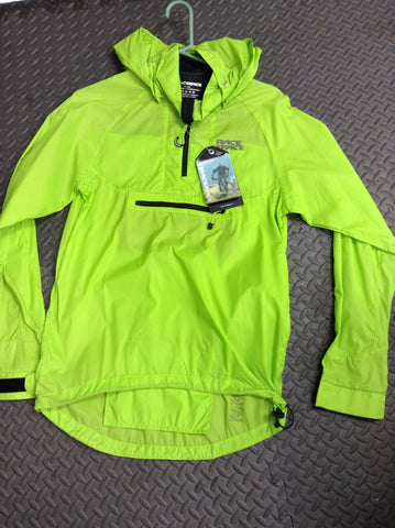 Raceface Nano Packable Jacket Lime Green