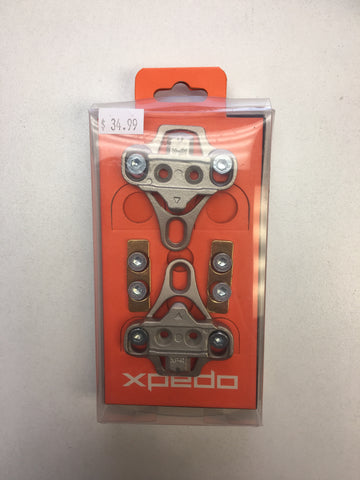 Xpedo XPR CLEAT SET – 6° FLOAT