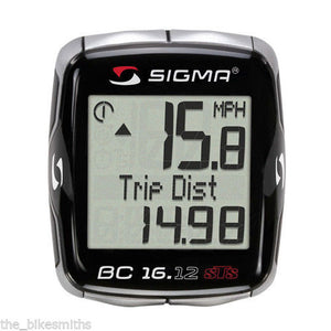 Sigma 16.12 Bicycle Digital Wireless Computer