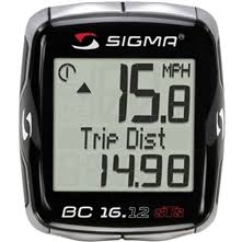 Sigma BC16.12 STS Cadence 16 Function Wireless Cycling Computer