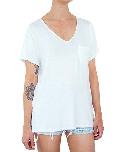 T-SHIRT No06 - BLANC/WHITE