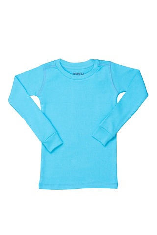 Solid Belize Turquoise PJ Top
