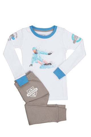 Snow Boarder PJ Set