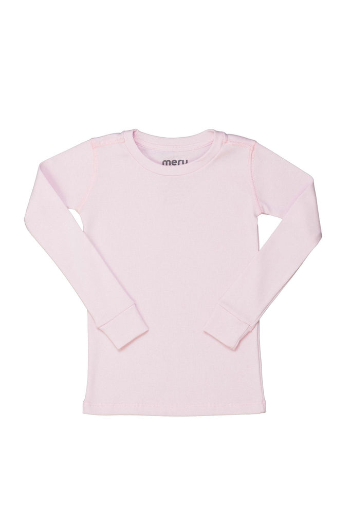 Solid Soft Pink PJ Top - Meru