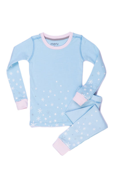 Snow Flakes PJ Set - Meru