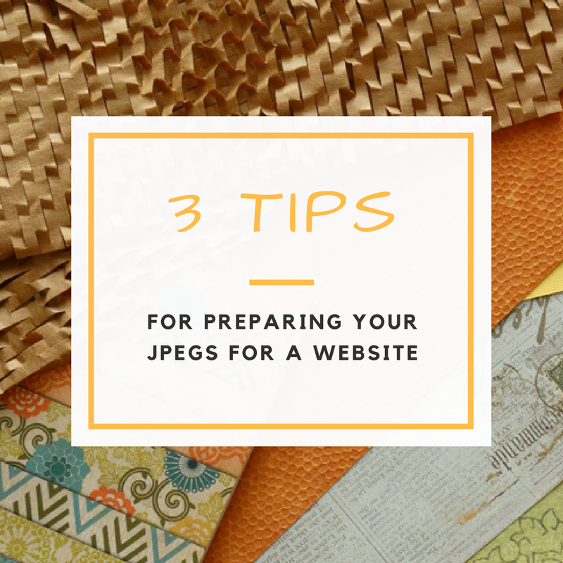 Preparing JPEGs for Your Website: 3 Tips
