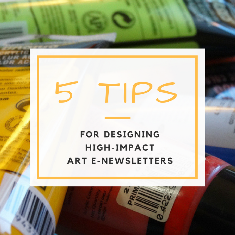 Designing High-Impact E-Newsletters: 5 Hot Tips