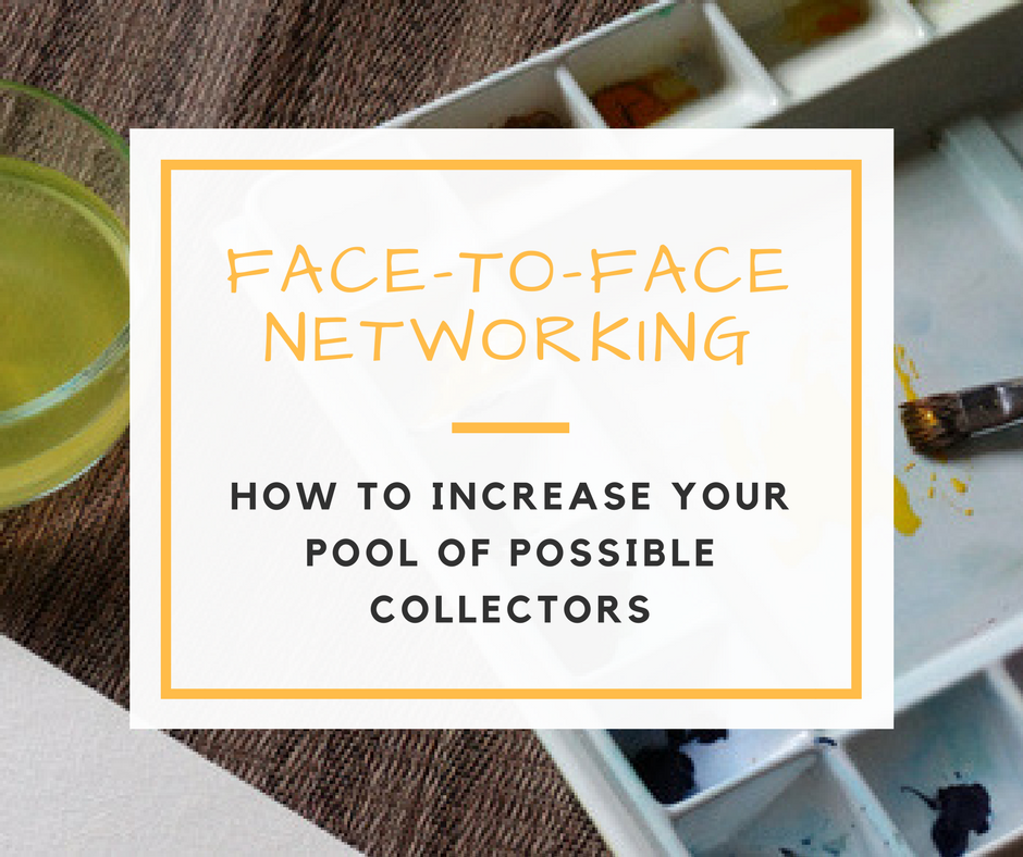 Meeting Potential Collectors Through Networking