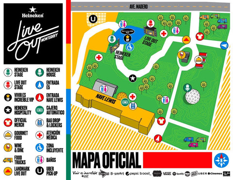 mapa live out monterrey 2016