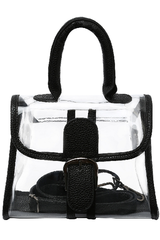bolsa transparente clear bag