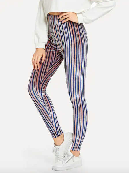 Leggings Colores Terciopelo *