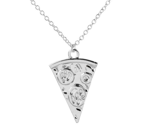 Collar Pizza Plateado - Toppunt