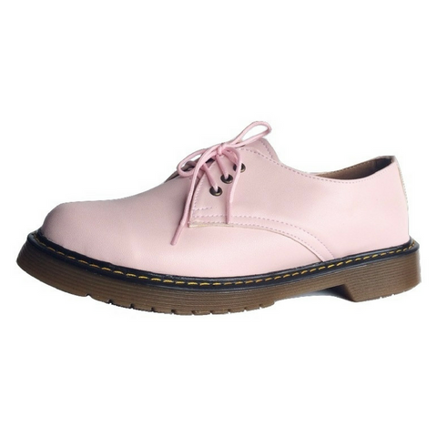 Zapatos Blucher Rosa
