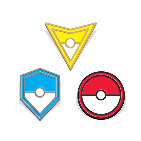 Team Instinct, Mystic & Valor - SET