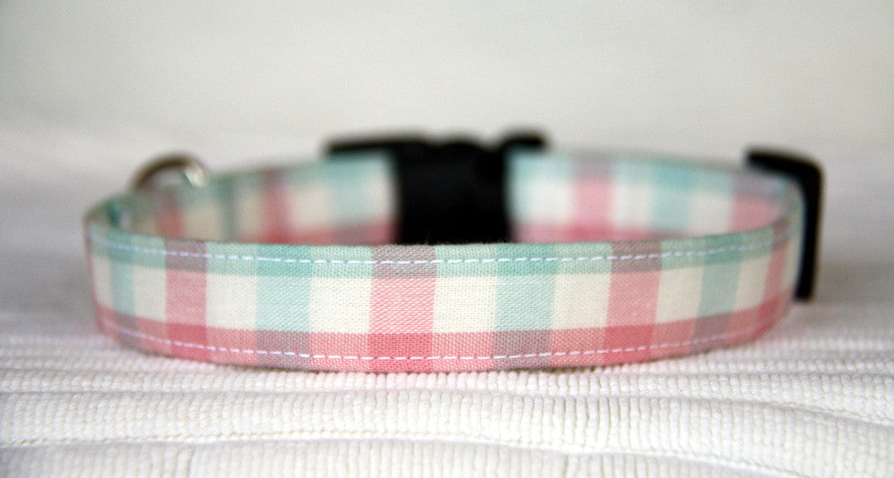 Cotton Candy Pastel Gingham