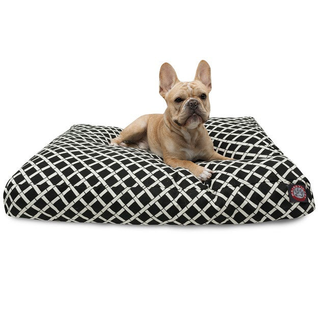 Bamboo Rectangle Dog Bed